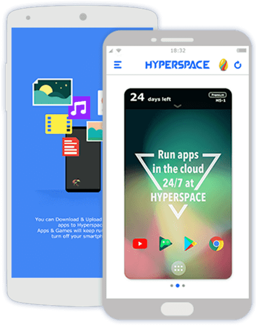 Hyperspace for Android.